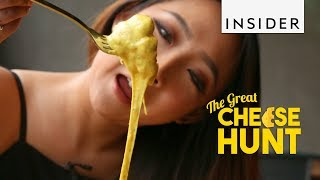 Cream Cheese Bread Bowl, South Korea | The Great Cheese Hunt Ep 2 thumbnail