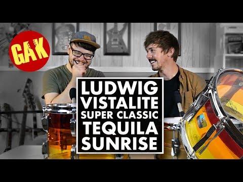 Ludwig Vistalite Super Classic! (Tequila Sunrise)