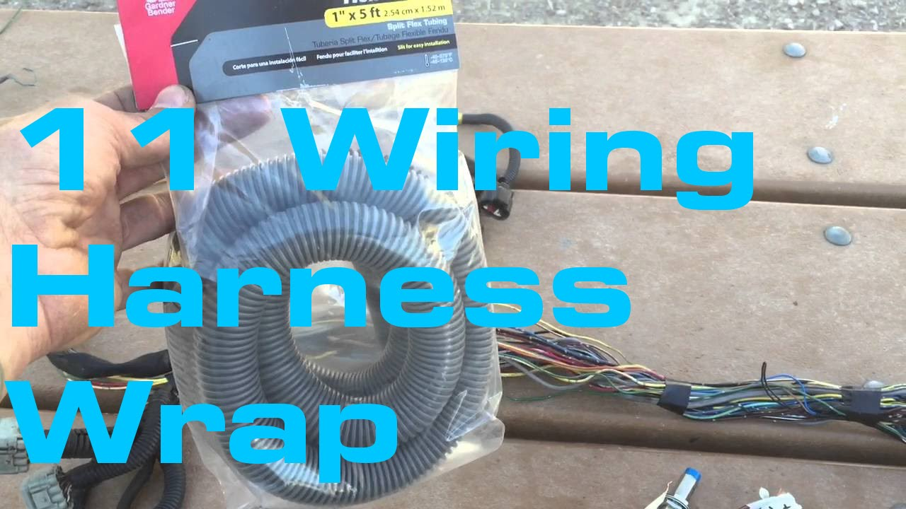 11. Wiring Harness Wrap - Wiring Harness Series - YouTube