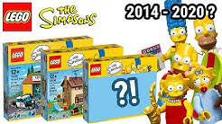 Neue SETS in 2020?! | Alle LEGO Simpsons Sets! (2014-2018) |  Brickstory