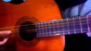 chúc em ngủ ngon guitar-Huy Di Nang
