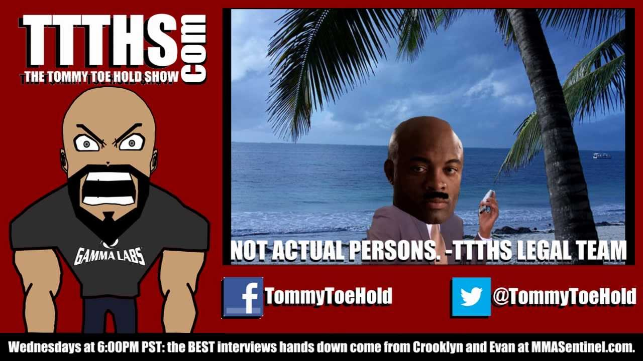 The Tommy Toe Hold Show Episode 62 Silva Pulls A Nick Diaz Ttths Mcdojo Www Facebook Com Mcdojolife Tommy Dojo Hold On