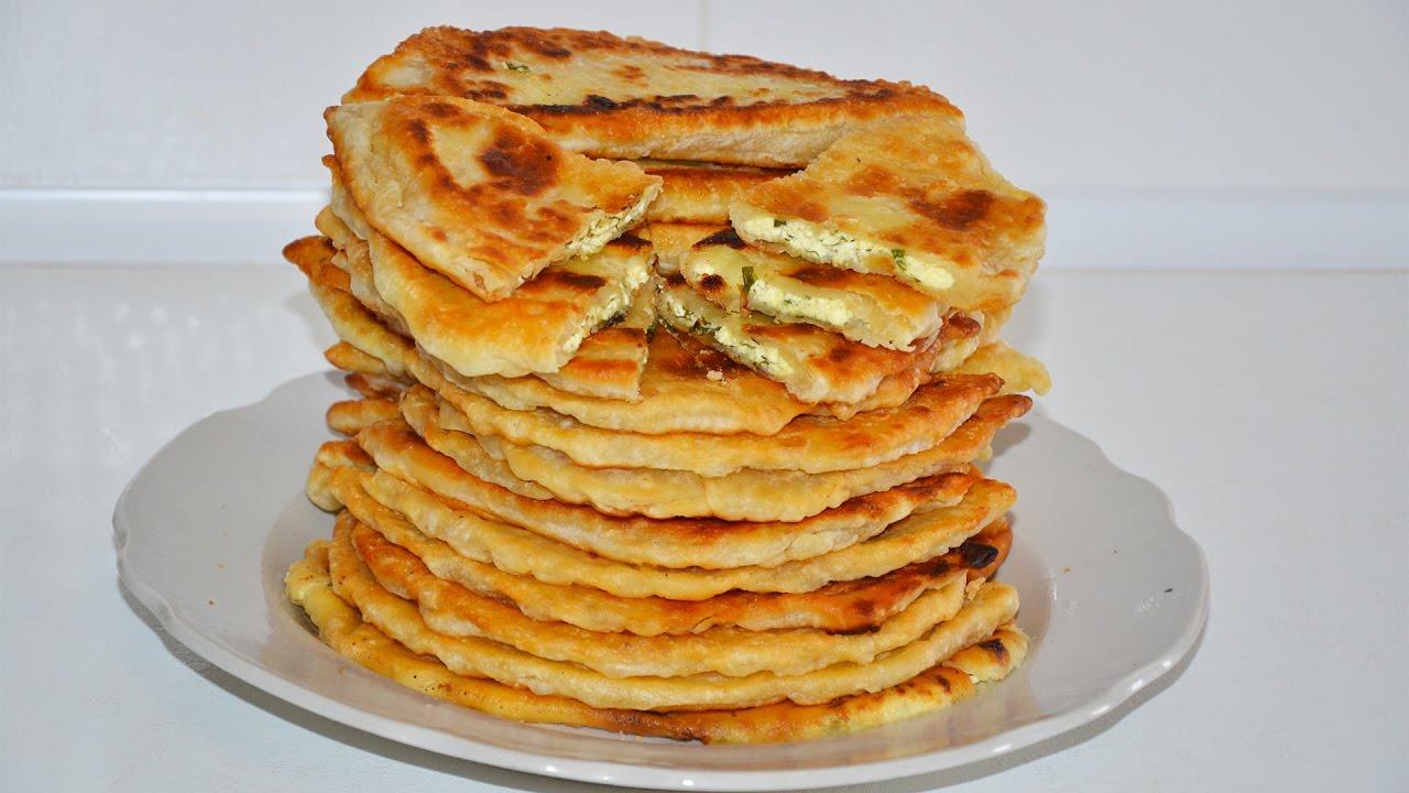 Плацинды с творогом и сыром, Блюда по-домашнему с фото по шагам рецепта изоражения