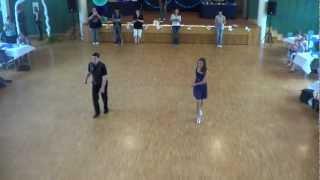 Line Dance Choreographie Taio Cruz Ft. Flo Rida - Hangover @ German World of Dance 2012