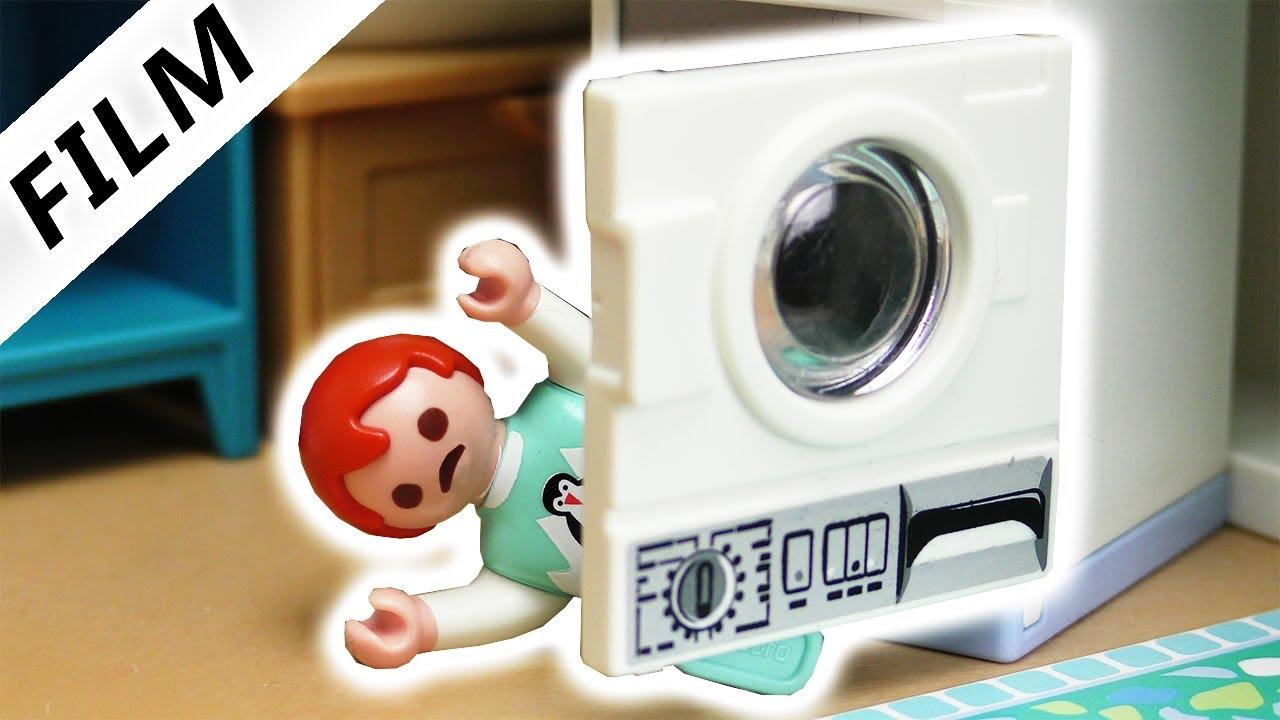 Playmobil Film Deutsch Emma Versteckt Sich In Waschmaschine Keine