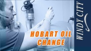 Hobart Mixer Oil Change Tutorial Diy Changing Oil On Hobart Windy City Restaurant Parts