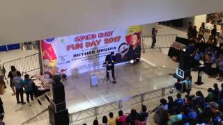 Ruther Urquia and Titoy at SM City Cabanatuan