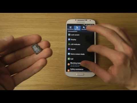 Samsung Galaxy S4: How To Install & Format a Micro SD Card