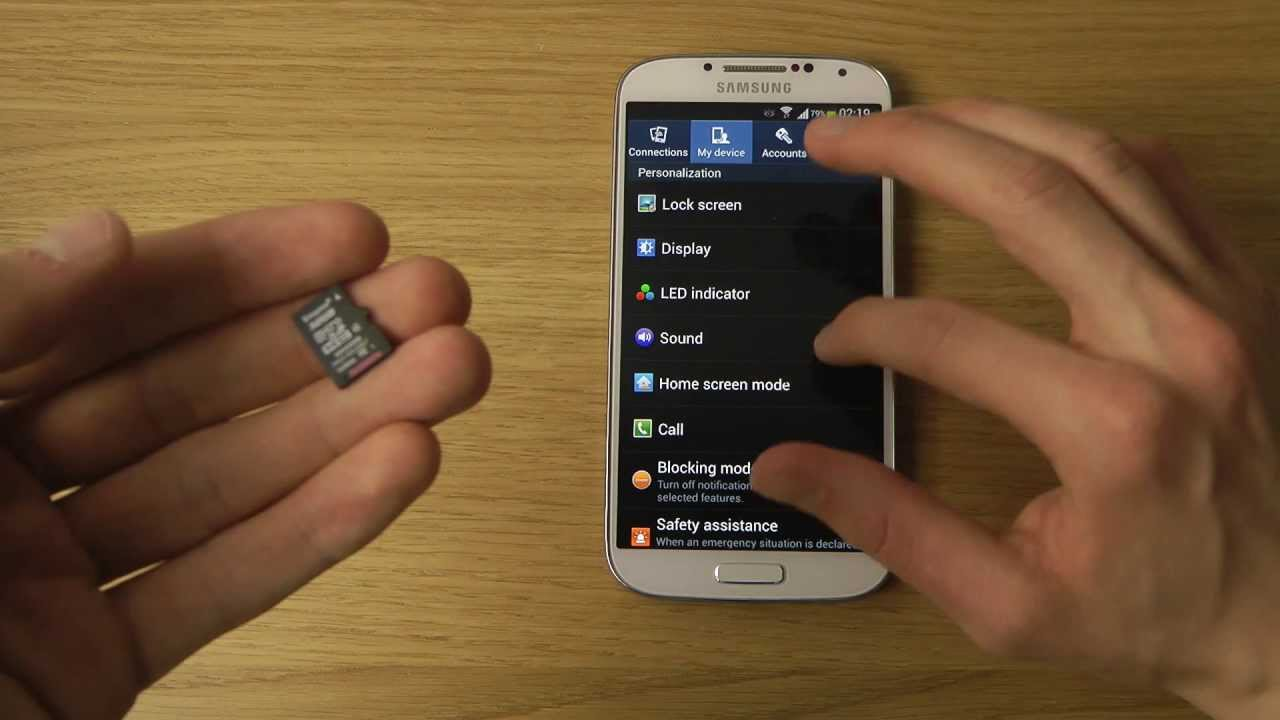 Tidsmæssigt Samsung Galaxy S4: How To Install & Format a Micro SD Card - YouTube HI-38