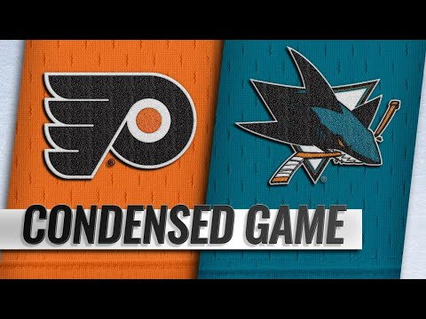 Condensed Game: Flyers @ Sharks