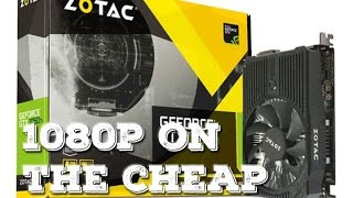 Badass Budget GPU? - Zotac GTX 1050ti Review
