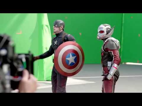 Behind The Scene Green Screen effect AVENGERS