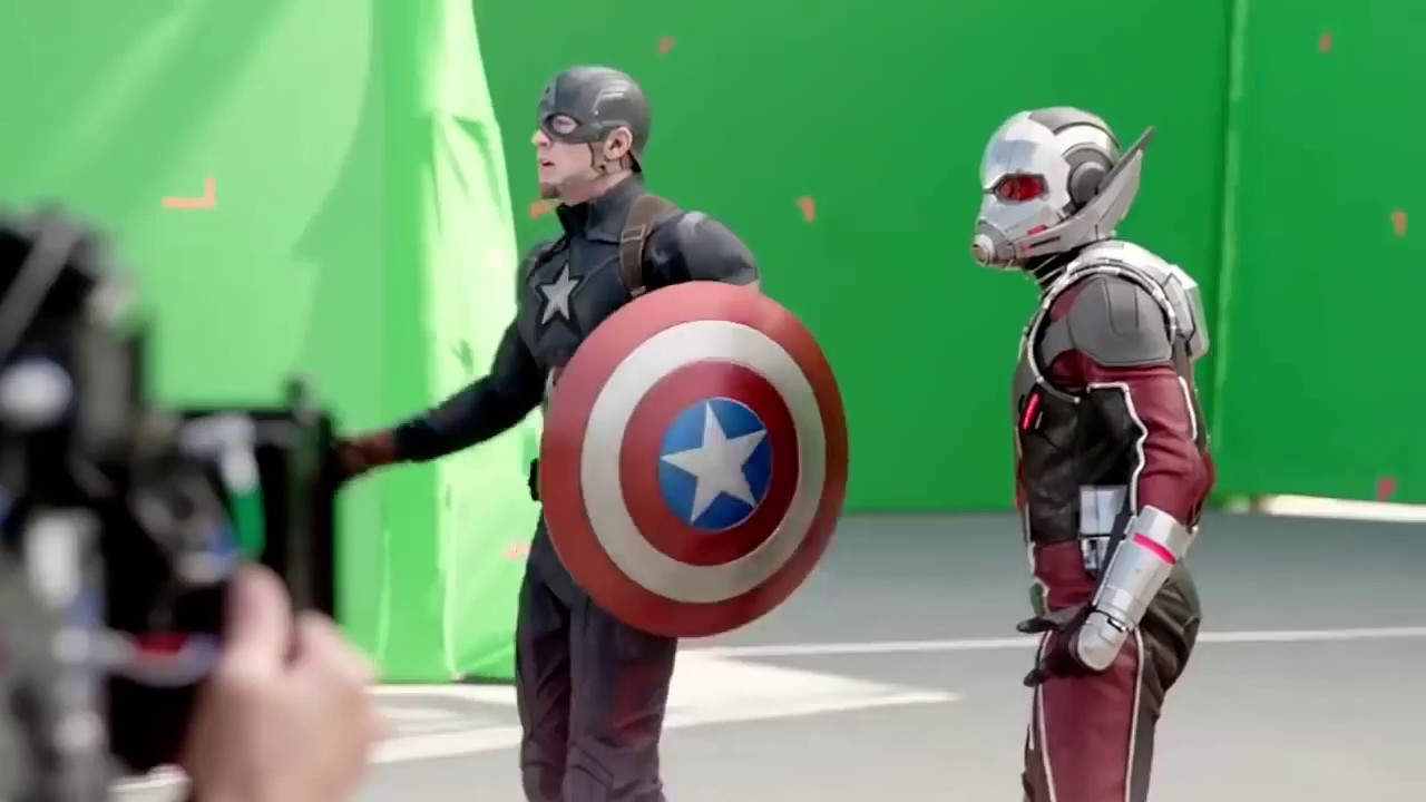 Download Behind The Scene Green Screen effect AVENGERS