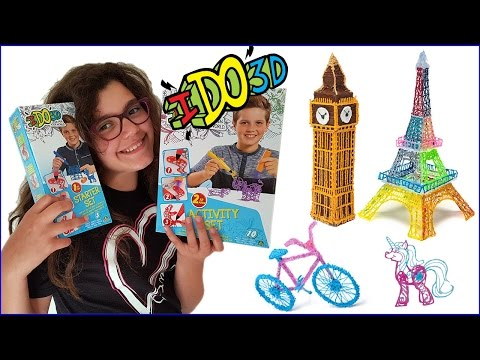I Do 3D Penne magiche Unboxing Review/Recensione