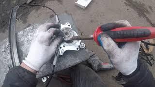 Порвался трос,ремонт электростеклоподъёмника.Ланос.