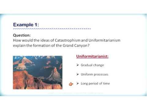 ES3209 2 1 1 Uniformitarianism versus Catastrophism