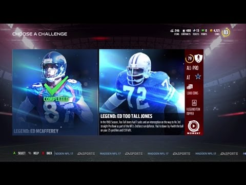 "Stopping Ed ""Too Tall"" Jones - Madden Ultimate Team Episode 1"