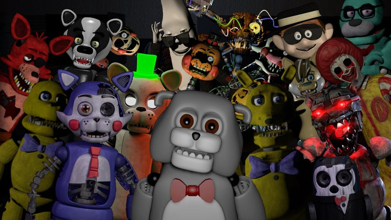 LOS 10 MEJORES FANGAMES DE FNAF PARA ANDROID #2 | THE 10 BEST FANGAMES OF  FNAF FOR ANDROID #2 |
