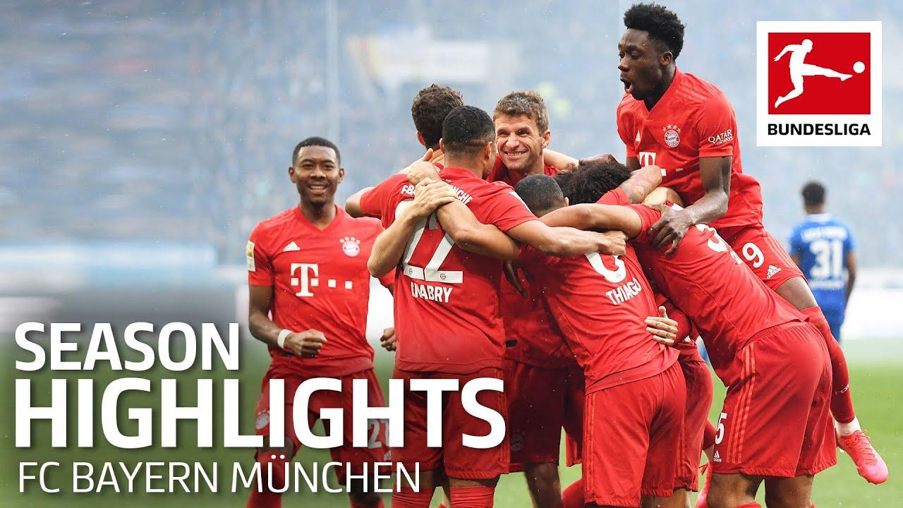 FC Bayern München Are Bundesliga Champions 2019/20 - Congratulations!
