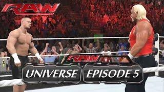 WWE 2K15 - Raw (Episode 5) - Universe [HD]