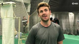 Canterbury's Blake Coburn in the nets at Trent Bridge - Cricket World Cup 2019