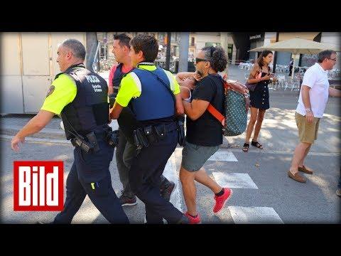 Terror in Barcelona / Van rast in Menschenmenge / Geiseln in Restaurant - BILD Daily Spezial live
