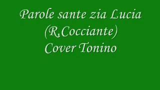 Parole sante zia lucia  Cocciante  Cover Tonino