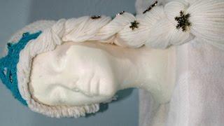 #Crochet gorro de Princesa de invierno (Video 1)