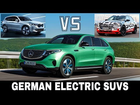 Mercedes EQC vs Audi e-Tron vs BMW iX3: Best German Electric Crossover Cars