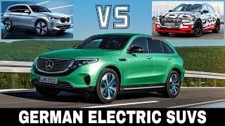 Mercedes EQC vs Audi e-Tron vs BMW iX3: Best German Electric Crossover Cars