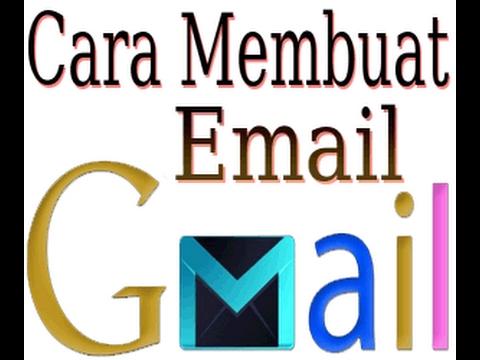 Cara Daftar Buat Akun Email Gmail - YouTube