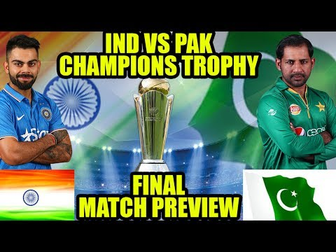 ICC Champions Trophy : India vs Pakistan final, Match Preview   Oneindia News