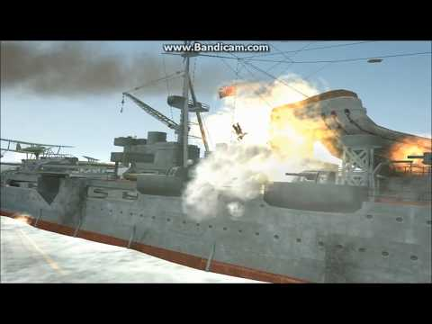 Silent Hunter 3 Battle: IJN Mogami vs USS Phoenix
