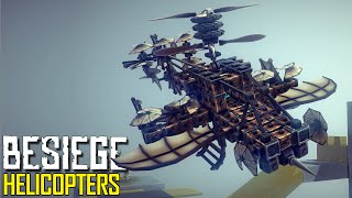 Besiege: Part 2 - Helicopters