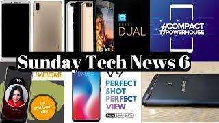 Sunday Tech News 6 - Xiaomi Mi Mix 2s,Redmi 5,Vivo V9,ZTE N3,Huawei Y9,Ivoomi i1s,Swipe Elite Dual.