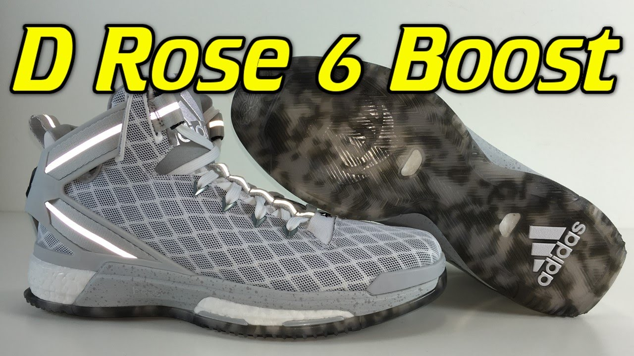 5d150f4bda7e Adidas D Rose 6 Boost - Review + On Feet - YouTube