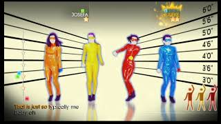 Just Dance 4 Wii Gameplay - The Girly Team: Oops!..! I Did It Again