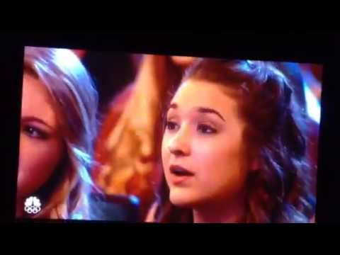Laura bertan 13- years old Opera singer get the golden buzzer On America got talent 2016