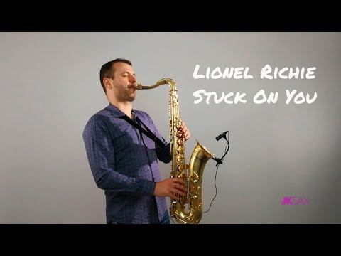 Lionel Richie - Stuck On You Instrumental Saxophone Cover by JK Sax
