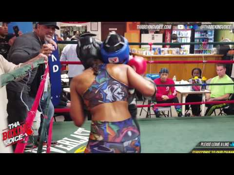 Amanda Serrano vs Cindy Serrano