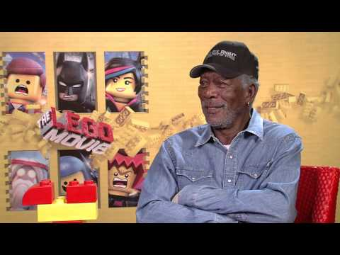The LEGO Movie (2014) Exclusive Morgan Freeman Interview [HD]