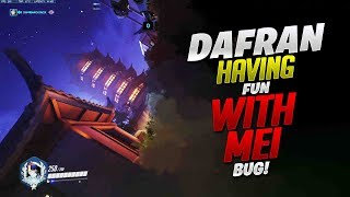 Dafran Having Fun With Mei Tilt Bug! - Overwatch