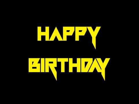 "Power Metal Themes - ""Happy Birthday"""
