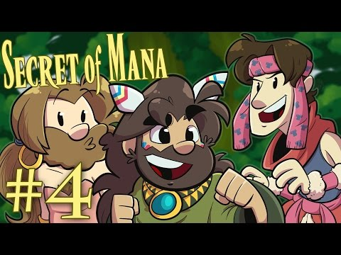 Secret of Mana | Let's Play Ep. 4: In Lay | Super Beard Bros.