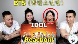 BTS (방탄소년단) 'IDOL' Official MV | Reaction - Australian Asians