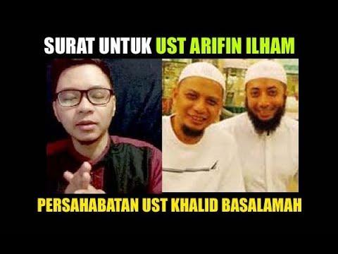 Persahabatan Ust Khalid Basalamah Dengan Ust Arifin Ilham