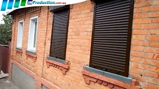 Защитные роллеты и Рольставни на окна от JB Production(, 2014-09-21T18:52:28.000Z)