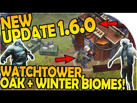 NEW UPDATE 1.6.0 - NEW WATCHTOWER, OAK GROVE, WINTER BIOME - Last Day On Earth Survival 1.6.0 Update