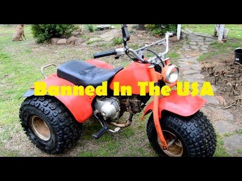 Craigslist Barn Find - Will It Run Again??? Honda ATC 110 - Part 1