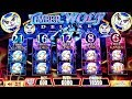 TIMBER WOLF Deluxe Slot Machine $6 Max Bet  BONUSES | MAJOR & MINOR JACKPOTS | GREAT SESSION